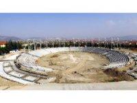 Türkiye'nin ilk Güreş Alanı ve Spor Kompleksi Isparta'da yükseliyor