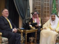 Pompeo, Suudi Arabistan Veliaht Prens ile görüştü