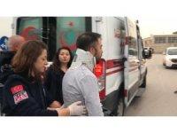 Kocaeli'de işçi servisi ile otomobil çarpıştı: 16 yaralı