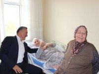 Tutal'dan hasta ziyaretleri