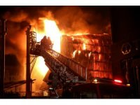 GÜNCELLEME - Bursa'da Kayapa Sanayi Bölgesi'nde yangın