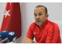"""Mehmet Özdilek: """"Trabzonspor maçında tek düşüncemiz alacağımız puanlar, her türlü puana ihtiyacımız var"""""""
