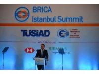 Hazine ve Maliye Bakanı Albayrak BRICA Zirvesi'nde konuştu