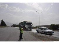 Dörtyol'da drone ile trafik uygulaması