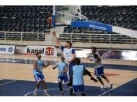 Denizli Basket Kepez maçı öncesi son hazırlıklarını yaptı