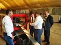 Nurdağı Kaymakamı Banka Müdürleri ve İş çevrelerine Bir dizi Ziyaretler yaptı.