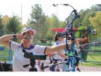 Okçuluk 2018 Türkiye finalleri resmi antrenman atışları ile başladı