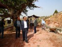 Belediye Başkanı Hadimioğlu, incelemelerde bulundu