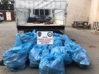 Mardin'de 10 bin 860 paket kaçak sigara ele geçirildi