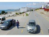 Jandarmadan havadan-karadan trafik denetimi