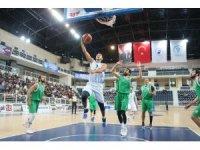 Denizli Basket hazırlık maçında Kepez Belediyespor'u mağlup etti