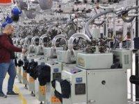 Çorap fabrikası üretime başladı