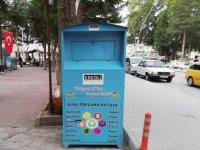 Ereğli'de giysi toplama kutuları ilgi görüyor