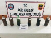 Ağrı'da 10 kilo 626 gram eroin ele geçirildi
