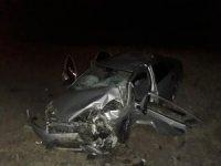 Niğde'de otomobiller çarpıştı: 2 ağır yaralı