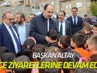 """Başkan Altay: """"Bütün ilçelerimizin kalkınması için çalışıyoruz"""""""