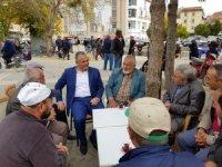 Ilgın Belediye Başkanı Karahan'dan pazarcılara ziyaret