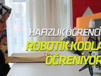 Hafızlık Öğrencileri Robotik Kodlama Öğreniyor