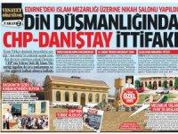 CHP ve Danıştay din düşmanlığında 'ittifak' yaptı... İslam Mezarlığının üstüne nikah salonu!