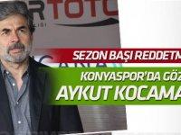 Konyaspor'da gözler Aykut Kocaman'da