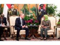 Putin, Singapurlu mevkidaşı Yakup ile bir araya geldi