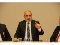 Şehit Yakınları ve Gaziler Federasyonundan Yalçın Topçu'ya ziyaret