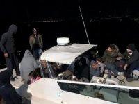 Fethiye'de 42 düzensiz göçmen yakalandı