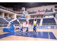 Denizli Basket Gemlik maçı hazırlıklarına başladı