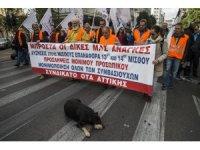 Yunanistan'da kamu çalışanları greve gitti