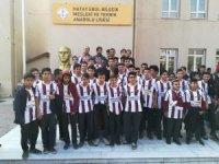 İlhan Palut ve Hamidou Maiga, öğrencilerle buluştu