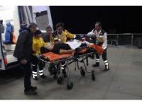 Kendini göğsünden vuran genç ağır yaralandı
