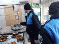 Zabıtan hijyen kurallarına uymayan lokanta ve simit fırınlarına ceza