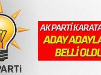 AK Parti Karatay'da Aday Adayları belli oldu