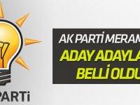 AK Parti Meram'da Aday Adayları belli oldu