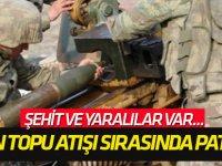 Şırnak'ta havan topu atışı sırasında patlama!