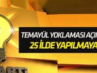 AK Parti'den temayül yoklaması açıklaması!