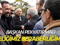 """Başkan Pekyatırmacı, """"En önemli önceliğimiz, milli birlik ve beraberliğimizdir"""""""