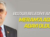 Bozkır Belediye Başkanı Meram'a aday adayı oldu