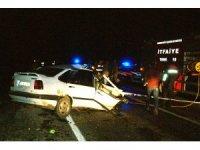 Samsun'da  tır ile otomobil çarpıştı: 2 ölü 2 yaralı