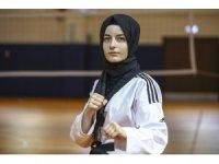 Tekvandocu imam hatipli kızın hedefi Avrupa şampiyonluğu