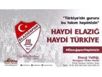 Vali Kaldırım, Elazığspor için destek istedi