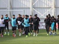 A Milli Futbol Takımı, Ukrayna maçının hazırlıklarına başladı