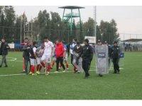 Amatör maçta kaleci ve 10 taraftar gözaltına alındı