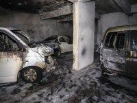 Başkent'te eş zamanlı yangınlar paniğe neden oldu