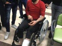 Aykut Kocaman'ı Görmek İsterken Ayağının Üzerinden Polis Aracı Geçti