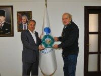 Tuğsal Baloğlu'ndan Başkan Akkaya'ya ziyaret