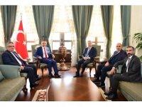 İKA yönetimi Vali Soytürk'ü ziyaret etti