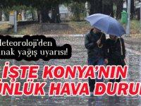 Konya'ya yağış müjdesi! İŞTE 5 GÜNLÜK HAVA DURUMU