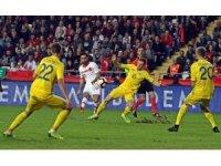 Hazırlık maçı: Türkiye: 0 - Ukrayna: 0 (İlk yarı)
