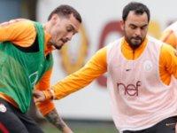 Galatasaray, Atiker Konyaspor maçının hazırlıklarını sürdürdü